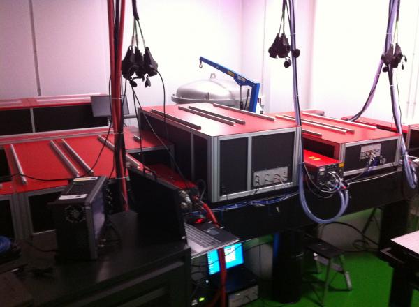 High intensity laser Thales' ALPHA 10/XS 45TW