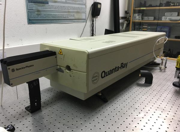QUANTA RAY nanosecond Nd:YAG laser